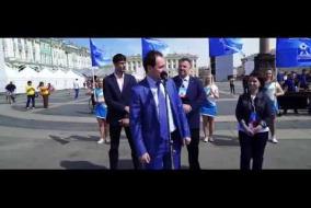 2016 Petersburg Cup открытие Дворцовая площадь