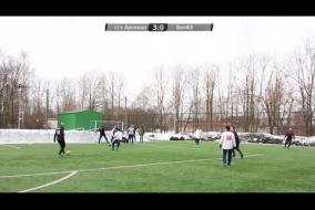 С/х Арсенал - БелАЗ 5:0 (01.04.2018) Обзор
