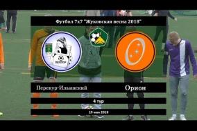 Жуковская весна 2018. Первая лига. 04 тур. Перекур-Ильинский - Орион