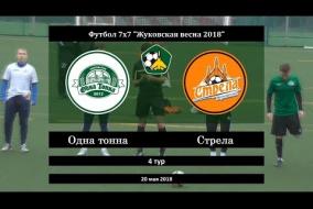Жуковская весна 2018. Высшая лига. 04 тур. Одна тонна - Стрела